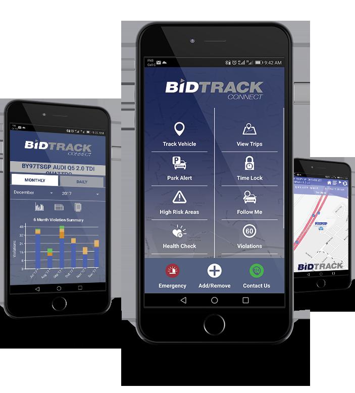 bidtrack connect app